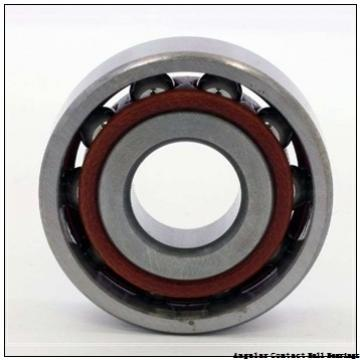 0.787 Inch | 20 Millimeter x 1.85 Inch | 47 Millimeter x 0.811 Inch | 20.6 Millimeter  GENERAL BEARING 455504  Angular Contact Ball Bearings