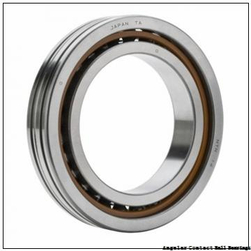 0.472 Inch | 12 Millimeter x 1.26 Inch | 32 Millimeter x 0.626 Inch | 15.9 Millimeter  GENERAL BEARING 455501  Angular Contact Ball Bearings