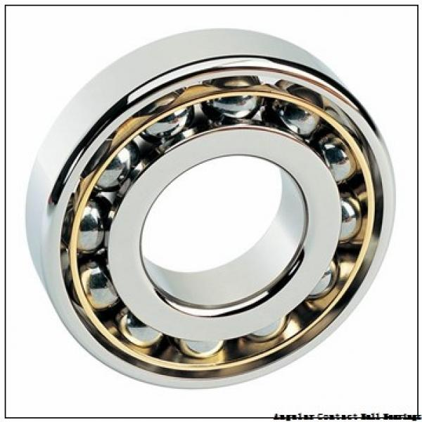 0.787 Inch | 20 Millimeter x 1.85 Inch | 47 Millimeter x 0.811 Inch | 20.6 Millimeter  GENERAL BEARING 455504  Angular Contact Ball Bearings #2 image