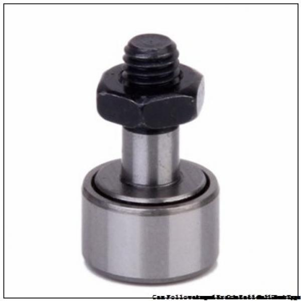 CONSOLIDATED BEARING CRSBE-22  Cam Follower and Track Roller - Stud Type #3 image