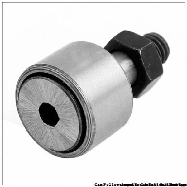 IKO CF24B  Cam Follower and Track Roller - Stud Type #1 image